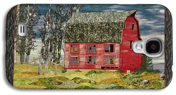 Architecture Tapestries - Textiles Galaxy S4 Cases - The Old Barn Galaxy S4 Case by Jo Baner