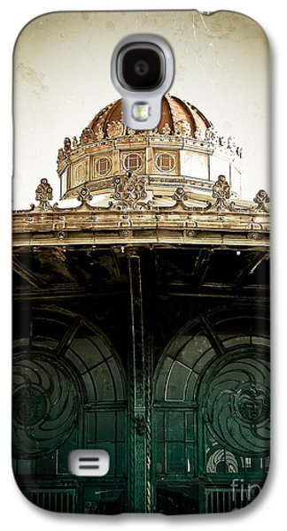 Original Art Photographs Galaxy S4 Cases - The Old Carousel House Galaxy S4 Case by Colleen Kammerer
