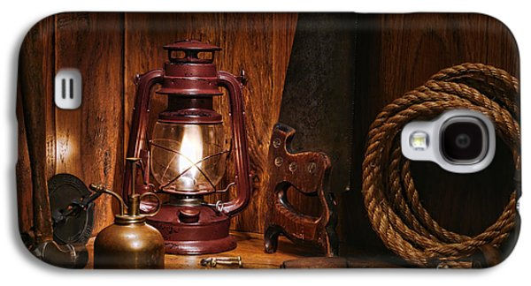 Kerosene Galaxy S4 Cases - The Old Carpentry Workshop Galaxy S4 Case by Olivier Le Queinec