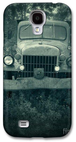 Farm Truck Galaxy S4 Cases - The Old Dodge Galaxy S4 Case by Edward Fielding