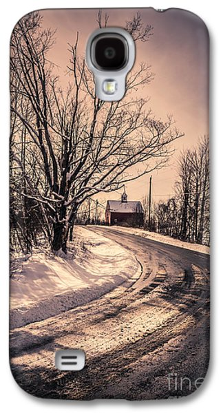 The Old Farm Down The Road Galaxy S4 Case by Edward Fielding