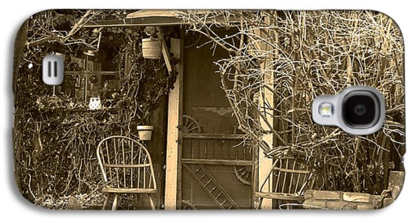 Laura Wrede Galaxy S4 Cases - The Old House in Genoa Nevada Galaxy S4 Case by Artist and Photographer Laura Wrede