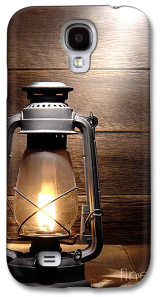 Kerosene Galaxy S4 Cases - The Old Lamp Galaxy S4 Case by Olivier Le Queinec