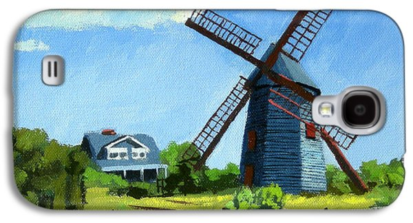 Chatham Paintings Galaxy S4 Cases - The Old Mill Cape Cod Massachusetts Galaxy S4 Case by Christine Hopkins