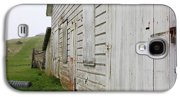 Contemplative Photographs Galaxy S4 Cases - The Old Pierce Point Ranch At Foggy Point Reyes California 5D28130 Galaxy S4 Case by Wingsdomain Art and Photography