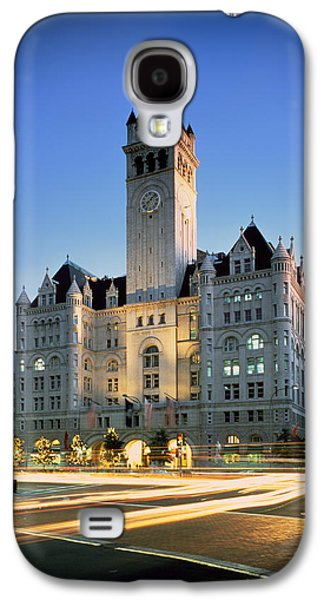 Landmarks Photographs Galaxy S4 Cases - The Old Post Office - Washington DC Galaxy S4 Case by Mountain Dreams
