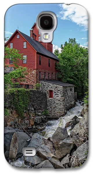 Old Mills Galaxy S4 Cases - The Old Red Mill Jericho Vermont Galaxy S4 Case by Edward Fielding