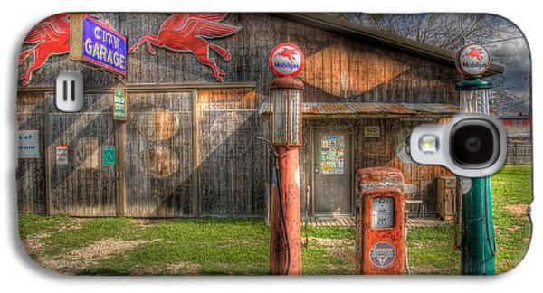 The Old Service Station Galaxy S4 Case by David and Carol Kelly