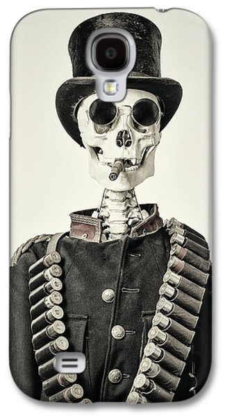 Skeleton Galaxy S4 Cases - The Old Soldier II Galaxy S4 Case by Martin Bergsma
