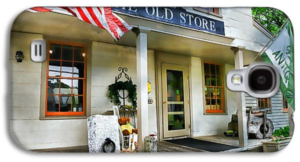 Country Store Galaxy S4 Cases - The Old Store Galaxy S4 Case by Diana Angstadt