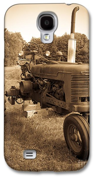 The Old Tractor Galaxy S4 Case by Edward Fielding