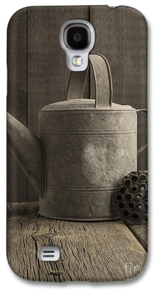 Studio Photographs Galaxy S4 Cases - The old watering can Galaxy S4 Case by Edward Fielding