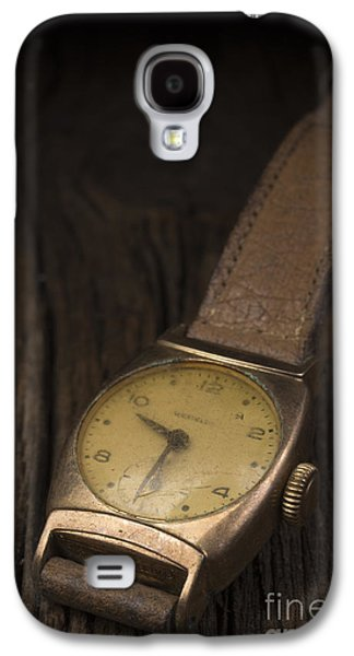 Old Objects Galaxy S4 Cases - The Old Wrist Watch Galaxy S4 Case by Edward Fielding