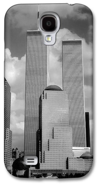 Twin Towers Nyc Galaxy S4 Cases - The Old WTC Galaxy S4 Case by Joann Vitali