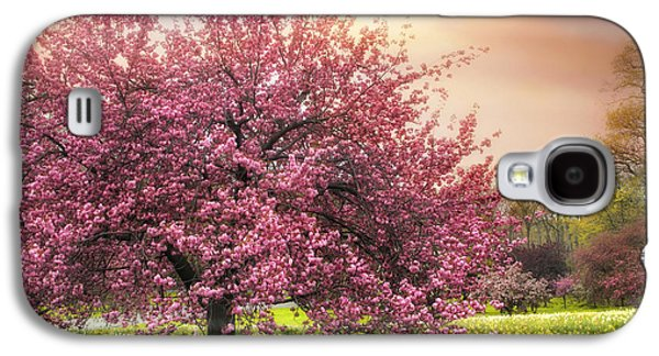 Cherry Blossoms Galaxy S4 Cases - The Orchard Galaxy S4 Case by Jessica Jenney