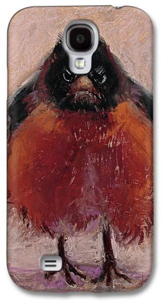 Animals Pastels Galaxy S4 Cases - The Original Angry Bird Galaxy S4 Case by Billie Colson