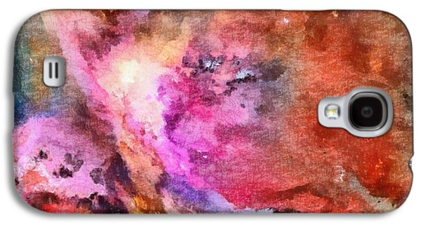 Constellations Paintings Galaxy S4 Cases - The Orion Nebula Galaxy S4 Case by Dan Sproul