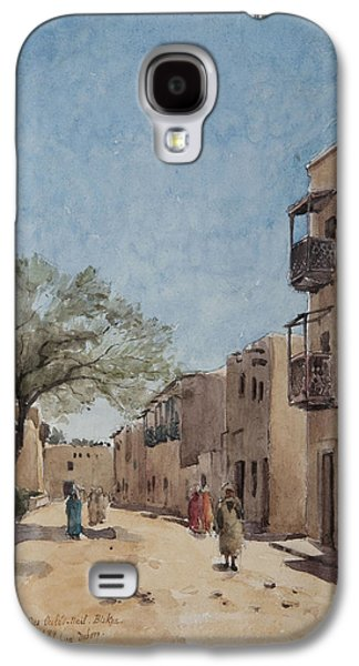 The Ouled Nail Quarter, Biskra, April 1889  Galaxy S4 Case by Henri Duhem