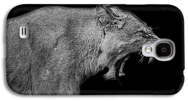 Lioness Galaxy S4 Cases - The pain within Galaxy S4 Case by Paul Neville