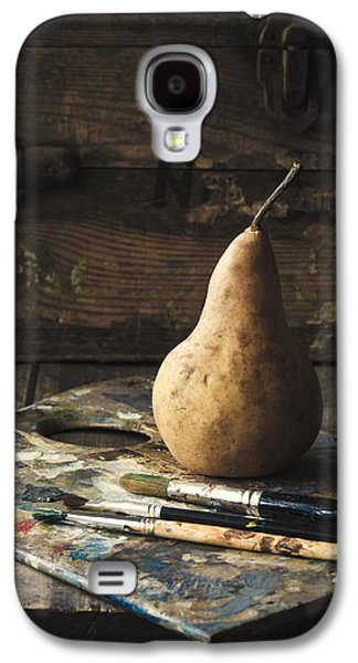 Mess Photographs Galaxy S4 Cases - The Painters Pear Galaxy S4 Case by Amy Weiss