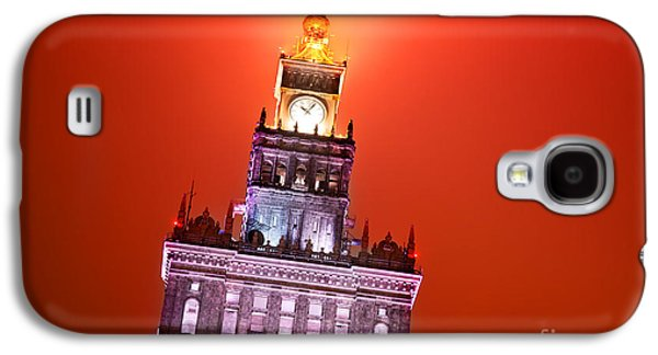Polish Culture Galaxy S4 Cases - The Palace of Culture and Science Warsaw Poland  Galaxy S4 Case by Michal Bednarek
