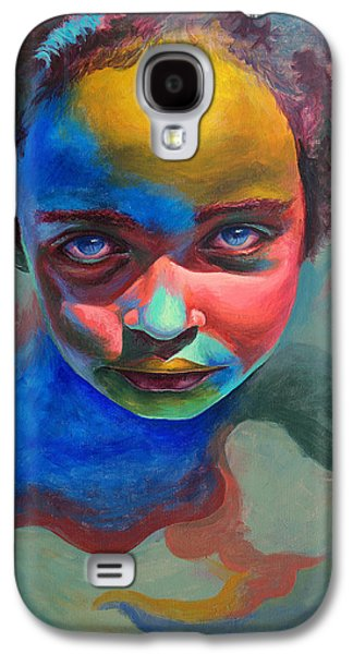Color Paintings Galaxy S4 Cases - The Palette  Galaxy S4 Case by Fithi Abraham
