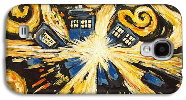 Exploding Galaxy S4 Cases - The Pandorica Opens Galaxy S4 Case by Sheep McTavish