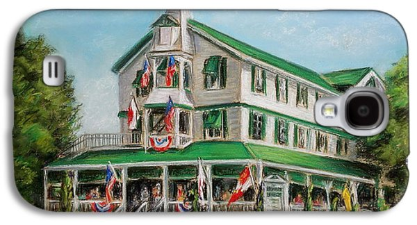 Buildings By The Sea Galaxy S4 Cases - The Parker House Galaxy S4 Case by Melinda Saminski