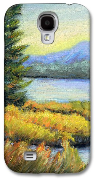 Park Scene Pastels Galaxy S4 Cases - The Passage Galaxy S4 Case by Arlene Baller