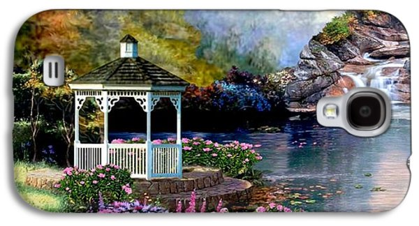 Kinkade Galaxy S4 Cases - The Path Least Fallowed II Galaxy S4 Case by Ronald Chambers