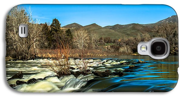 River Flooding Galaxy S4 Cases - The Payette River Galaxy S4 Case by Robert Bales
