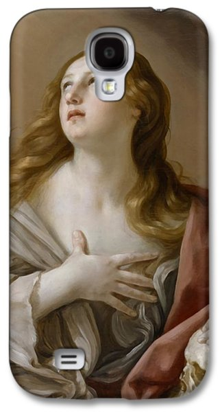 The Followers Galaxy S4 Cases - The Penitent Magdalene Galaxy S4 Case by Guido Reni