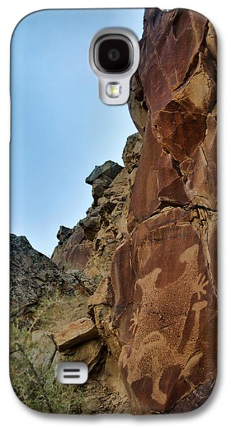 Americans Tapestries - Textiles Galaxy S4 Cases - The People of Cottonwood Creek Galaxy S4 Case by Nena Trapp