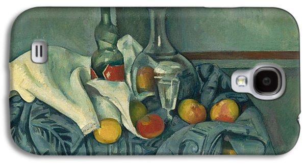 The Peppermint Bottle Galaxy S4 Case by Paul Cezanne