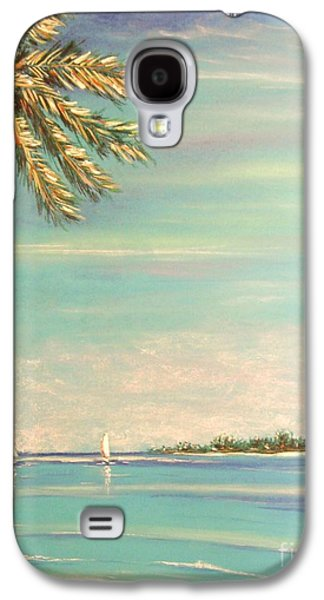 Beach Landscape Pastels Galaxy S4 Cases - The Perfect Day Galaxy S4 Case by The Beach  Dreamer