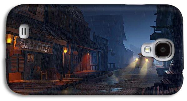 West Digital Galaxy S4 Cases - The Phantom 309 Galaxy S4 Case by Kristina Vardazaryan