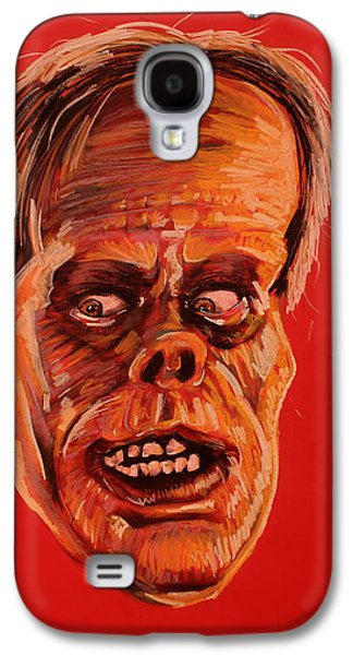 Haunted House Pastels Galaxy S4 Cases - The Phantom of the Opera Galaxy S4 Case by Brent Andrew Doty
