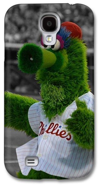 Phillie Galaxy S4 Cases - The Phillie Phanatic Galaxy S4 Case by David Ziegler