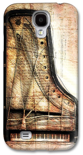 Piano Galaxy S4 Cases - Prelude To Dawn Galaxy S4 Case by Gary Bodnar