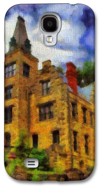 Old House Photographs Galaxy S4 Cases - The Piatt Castle Galaxy S4 Case by Dan Sproul