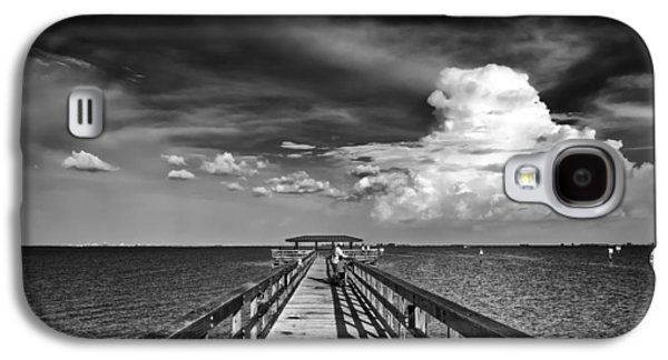 Stormy Weather Galaxy S4 Cases - The Pier Galaxy S4 Case by Marvin Spates