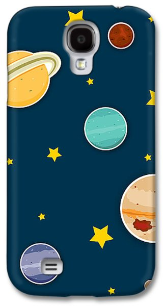 The Planets  Galaxy S4 Case by Christy Beckwith