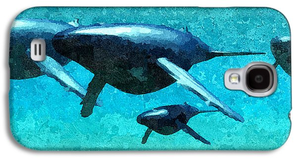 Plankton Mixed Media Galaxy S4 Cases - The Pod... Galaxy S4 Case by Tim Fillingim