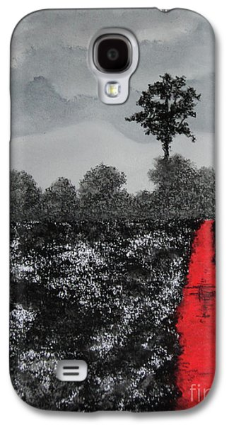 Surrealism Pastels Galaxy S4 Cases - The Poison Stream Galaxy S4 Case by Stanza Widen