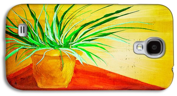 The Pot Plant Galaxy S4 Case by Brenda Bryant