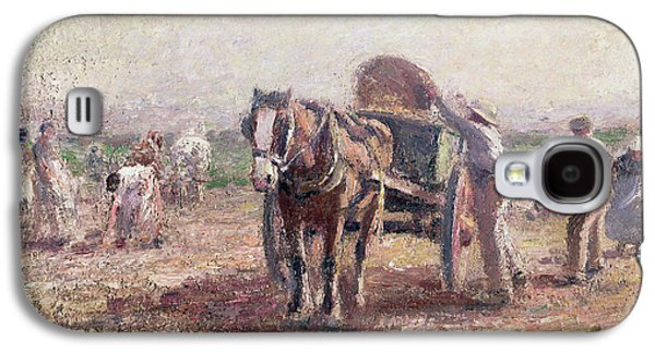The Potato Pickers Galaxy S4 Case by Harry Fidler