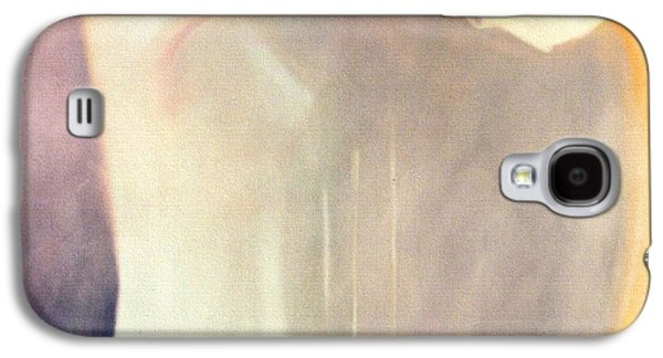 Self Discovery Paintings Galaxy S4 Cases - The Potential of Death/Birth Galaxy S4 Case by Jodie Marie Anne Richardson Traugott          aka jm-ART