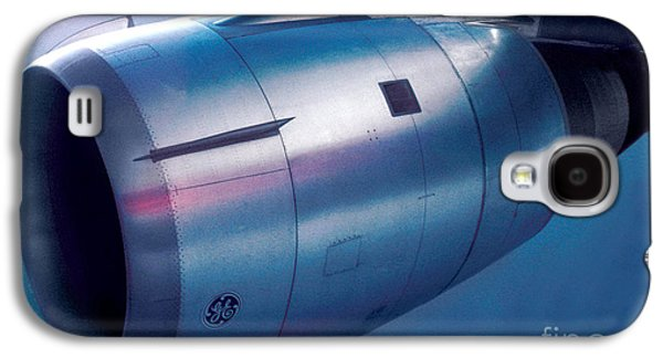 The Power Of Flight Jet Engine In Flight Galaxy S4 Case by Wernher Krutein