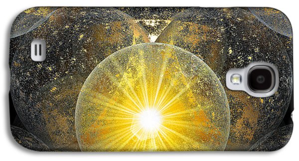 Abstract Movement Galaxy S4 Cases - The Power of One Galaxy S4 Case by Michael Durst
