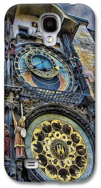 Towe Galaxy S4 Cases - The Prague Astronomical Clock II Galaxy S4 Case by Lee Dos Santos